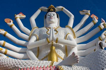 Statue von Shiva