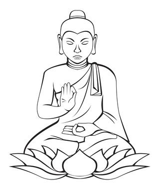 Die 12 Taten eines Buddhas