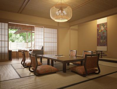 japanische einrichtung buddhanetz