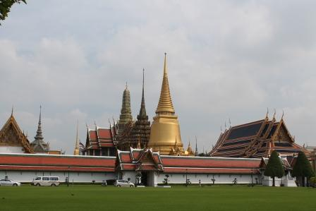 Der Königspalast (Grand Palace) in Bangkok
