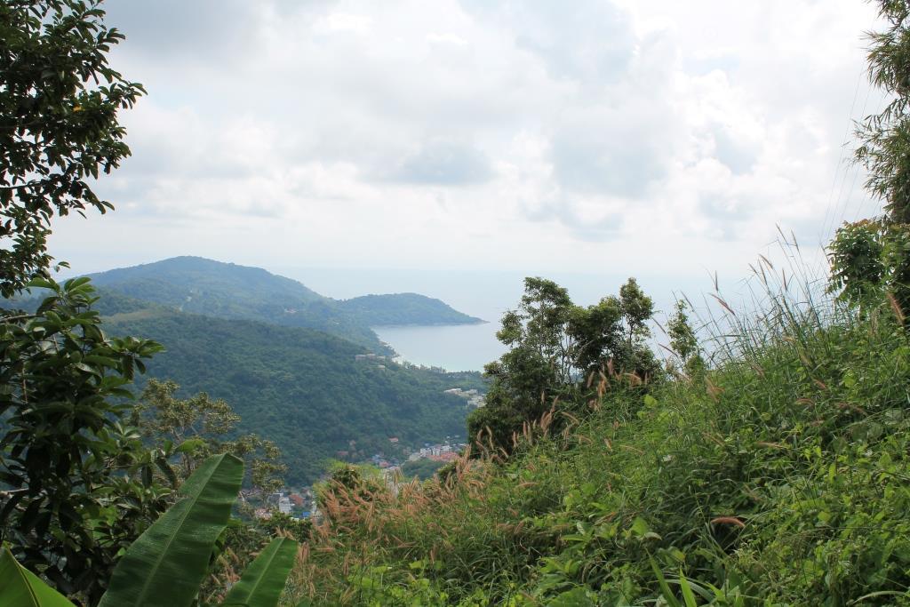 Blick vom Berg Big Buddha