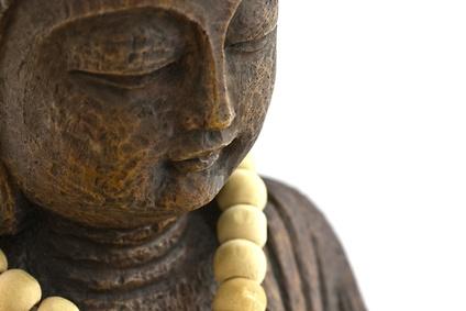 Buddha mit Schmuck