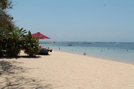 Strand von Nusa Dua (Bali)