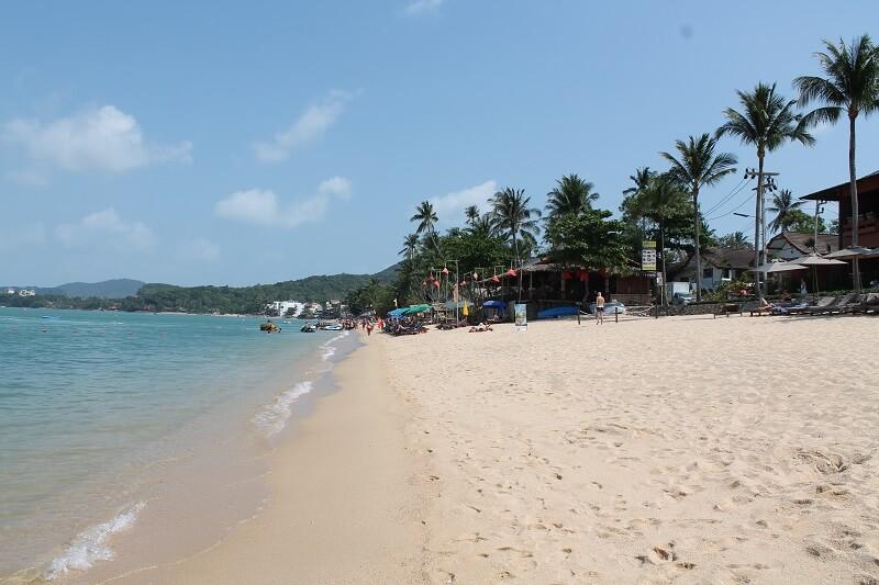 Bophut-Beach auf Koh Samui