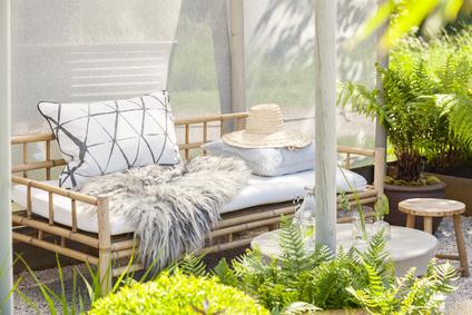 Bambusmöbel liegen im Trend